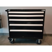 Heavy-Duty Mobile Cabinet - 5 drawers