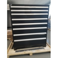 Heavy-Duty Stationary Cabinet - 8 drawers (with Compartments)