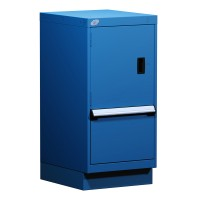 Stationary Compact Cabinet with Partitions