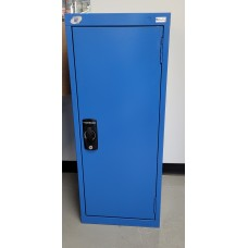 CLEARANCE - Stationary Compact Cabinet with a door and hanger rack