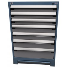 Heavy-Duty Stationary Cabinet (with Compartments) - 7 drawers
