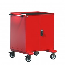 Heavy-Duty Mobile Cabinet, with Partitions
