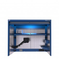 TekZone Hutch with Power Feed Panel