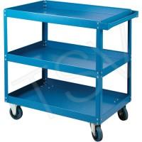 Knocked-down shelf carts