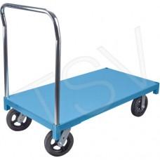 Chariot à plateforme en acier