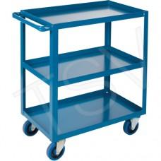 Heavy duty shelf carts