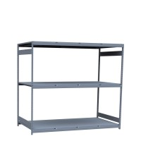 Mini-racking, steel shelves