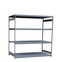 Mini-racking, steel shelves