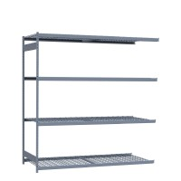 Mini-racking, wire shelves (Add-on)