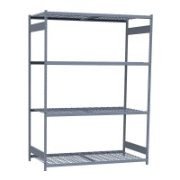 Mini-racking, wire shelves