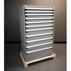 Heavy-Duty Stationary Cabinet - 11 drawers (with Compartments)