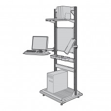 Free Standing Station (Off-Centered)