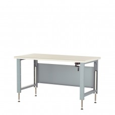 Workbench, Adjustable Height with Plastic Laminated Top