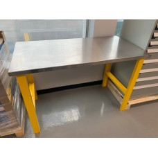 CLEARANCE - Workbench with stainless steel top
