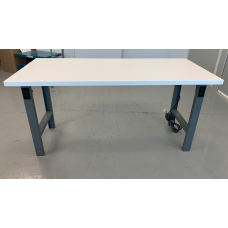 CLEARANCE - Workbench with painted steel top