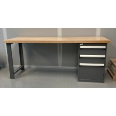 Workbench with Laminated Wood Top