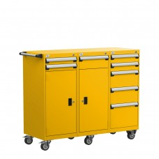 Mobile Compact Cabinet with Partitions
