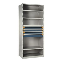 "Shelving with Drawers, 18""H Drawer Bank"
