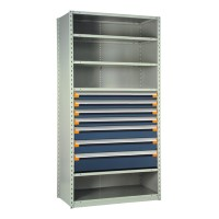 Shelving with Drawers, 36