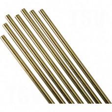 "36"" Low Fuming Bronze Cut Length TIG Rods - Bare"
