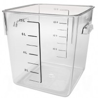 Rubbermaid® Space Saving Square Container