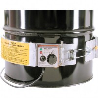 Thermostat Control Heaters, Steel Drums, 5 US gal (4.16 imp. Gal.), 200°F - 400°F, 120 V Each