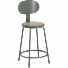 500 Series Stationary Stool with Back
