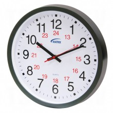 12/24 H Battery Operated Wall Clock