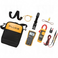 116/323-KIT Multimeter and Clamp Meter Kit, AC/DC Voltage, AC Current Each