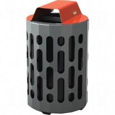 2020 Stingray Waste Receptacles, Metal, 42 US gal. Each