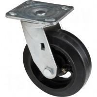 "Mold-on Caster, Swivel, 6"" (152.4 mm), Rubber, 500 lbs. (227 kg.) Each"