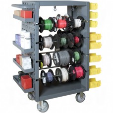 8 Rod Mobile Wire Spool Rack