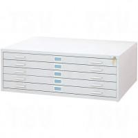 Steel Plan Files-5 Drawer