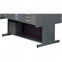 High Base for Steel Plan File Cabinet