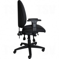 Supportech™ Ergonomic Chairs, Black, 250 lbs. Capacity Each
