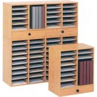 Adjustable Compartment Literature Organizer