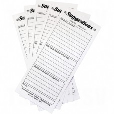 Suggestion Boxes - Suggestion Cards, 25/pkg