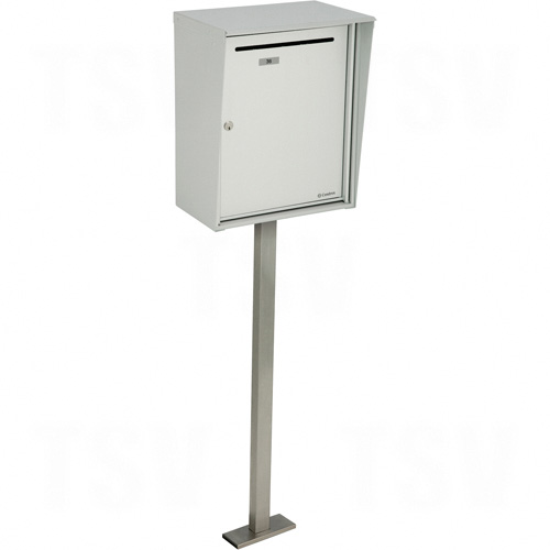 """Collecting Boxes, Pedestal -Mounted, 21"""" x 12-7/8"""", Aluminum Each"""