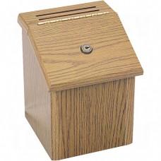 Wood Locking Suggestion Box