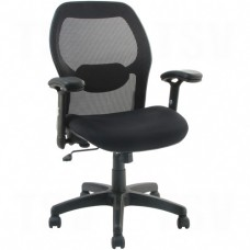 Activ® A-43 Mid-Back Chairs, Black, 250 lbs. Capacity Each