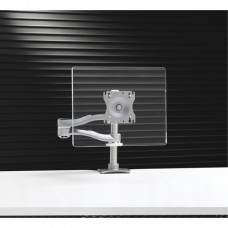 Single-Screen, Height-Adjustable Double-Extension Arm