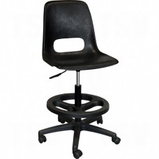800 Series Classroom Stool with Back