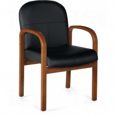 Harvest Wood Frame Guest Chairs