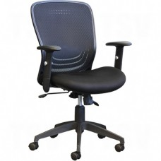 Activ® A-99 Mid-Back Syncro-Tilter Office Chairs, Black, 250 lbs. Capacity Each