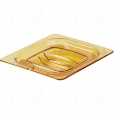 1/6-Sized High-Heat Food Pan Lid