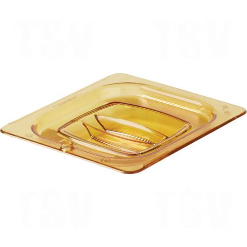 1/6-Sized High-Heat Food Pan Lid