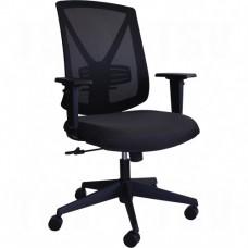 Activ™ A-47 Synchro Office Chair, Fabric, Black, 250 lbs. Capacity Each