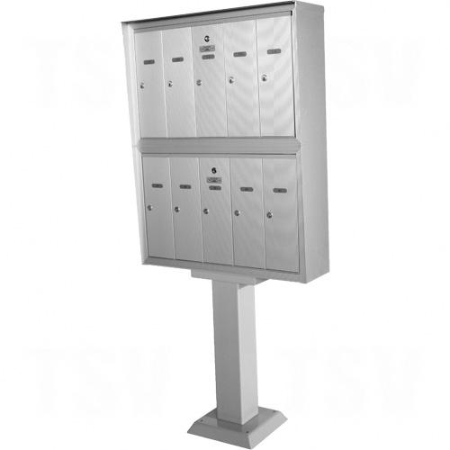 Double Deck Pedestal Mailboxes