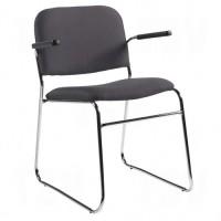"Key® Chair, Fabric, 30"" High, 200 lbs. Capacity, Black"