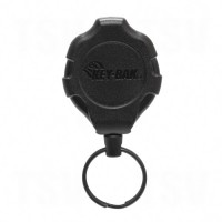"Ratch-It™ Retractable Ratcheting Tether, Polycarbonate, 48"" Cable, Belt Clip Attachment"